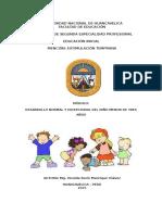 Afe 102 Desarrollo Normal y Excepcional Del Niño Menor de Tres Años