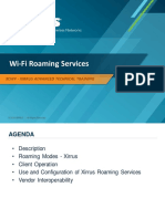 WiFi RoamingServices - XIRRUS