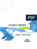 MAN0387 - 2.0 Hydro 2000MU User Manual - Lead Free Version