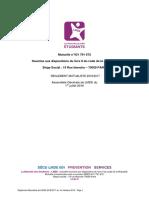 LMDE 2016 Reglement Mutualiste