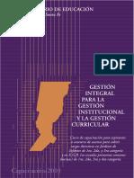 4.1. Minsiterio Educación Santa Fe - Gestión Integral
