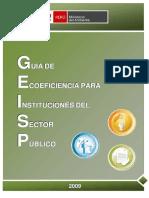 Guia de Ecoeficiencia para Instituciones Publicas