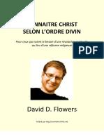 Connaitre Christ Ordre Divin