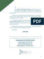 Cuadro Medico Dental Antares