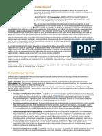 Modelos de Habilidades e Competências