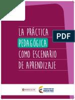 La Práctica Pedagógica Como Escenario de Aprendizaje