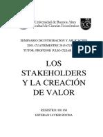 Los Stakeholder Como Factor Estrategico Version Final