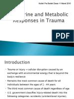 1.Endocrine and Metabolic Response to Trauma
