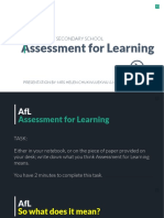 AfL Presentation_Aug 2016