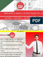 SGF Restaurant Presentation