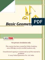 Basic Geometry GRE Edge
