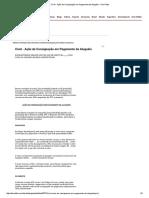 Cível - Ação de Consignação Em Pagamento de Aluguéis - DomTotal 10