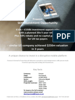 Freeon Investor SEIS One Pager v0.7