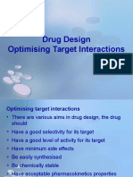 11 - Drug Design - Optimizing Target Interactions