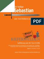 Ritterschauspiele Kiefersfelden 2016 SEBASTIAN