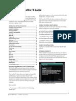 MicroBook II CueMix FX Guide