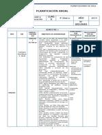 Lenguaje Planificacion - 4 Basico