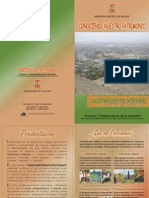 Cartilla Informativa 2006 Patrimonio Olivense - Karen Luján y Alberto Tapia