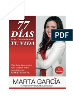 PRIMEROS CAPÍTULOS Libro 77 Días Para Transformar Tu Vida