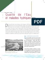 Isabelle Hairy, Qualite de l'Eau Et Maladies Hydriques