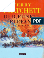 Terry Pratchett-Der f 252 Nfte Elefant -Goldmann 2000
