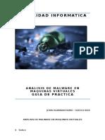 Analisis de Malware en Maquinas Virtuales