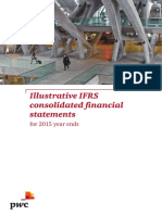 PWC - Illustrative IFRS Consolidated Financial Statements for 2015 Year Ends