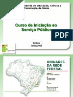 Curso Iniciacao Serviço Publico - Ifg