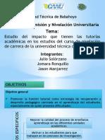 Universidad Técnica de Babahoyo Diapositivas