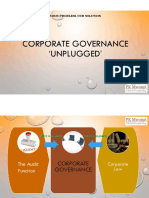 Corporate Governance 'Unplugged'