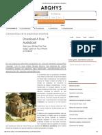 Caracteristicas de La Arquitectura Bizantina