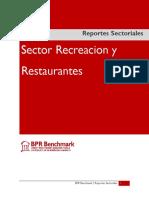 Sector Recreacion y Restaurantes