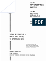 TTI Pole Foundation Method