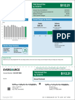 Newly Designed Eversource  Bill