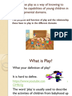 purpose and function of play 1