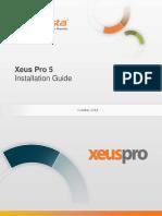 InfoVista Xeus Pro 5 Installation Guide