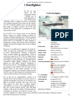 Lockheed F-104 Starfighter - Wikipedia, La Enciclopedia Libre