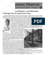 The Peripatetic Observer 2008