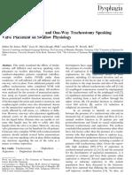 Efecto de La Deflación Del Cuff y VF en Paciente TQT