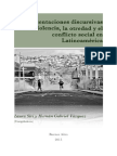 Representaciones de Violencia Otredad y Conflicto Libro 3