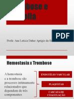 Aula Trombose e Embolia