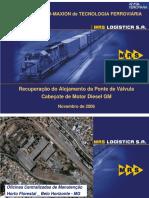 Recuperação Do Alojamento Da Ponte de Valvula Cabeçote de Motor Diesel GM