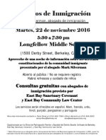 Immigration Forum - Sp Final