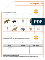 Stories ABC Zoo Worksheet