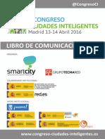 20160504 Libro Comunicaciones II Congreso Ciudades Inteligentes