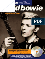 Play guitar with David Bowie