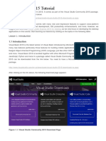 Visual Basic 2015 Tutorial