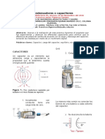 Practica condensadores o capacitores