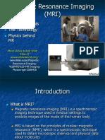 Lecture MRI