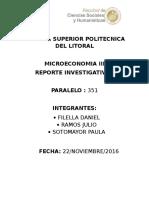 Reporte Investigativo